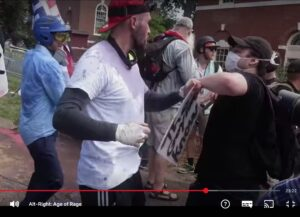 Fight scene from the movie 'Alt-Right: Age of Rage'