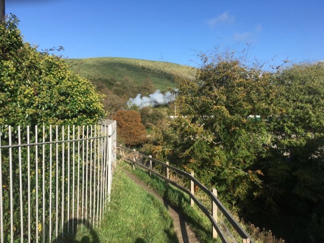 Corfe Steam Train
